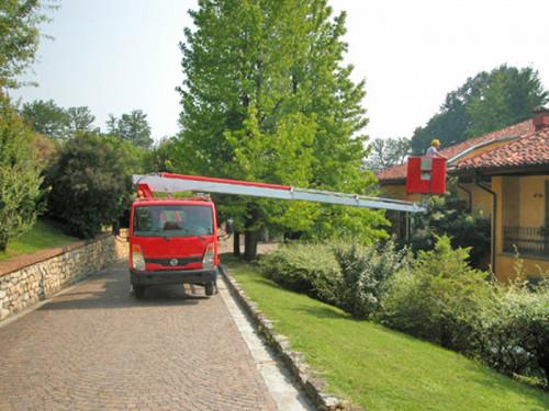 Camions nacelle diesel 16,3M MULTITEL 160 ALU porteur RENAULT 130CV