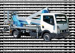 Camions nacelle diesel 19,9m multitel hx 200 ex