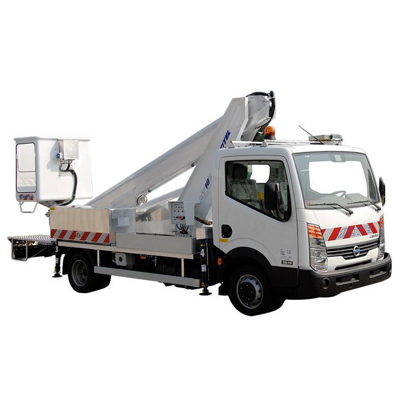 Camions nacelle diesel 18,4M MULTITEL MT 182 DS porteur NISSAN