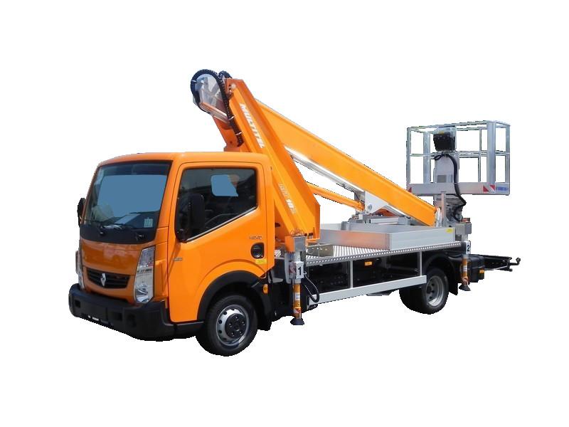 Camions nacelle diesel 18,4M MULTITEL MT 182 EX porteur RENAULT