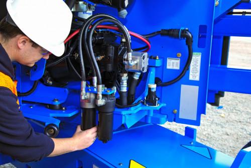 Nacelles articulées diesel 15,9M GENIE Z 45/25 RT SERIE II