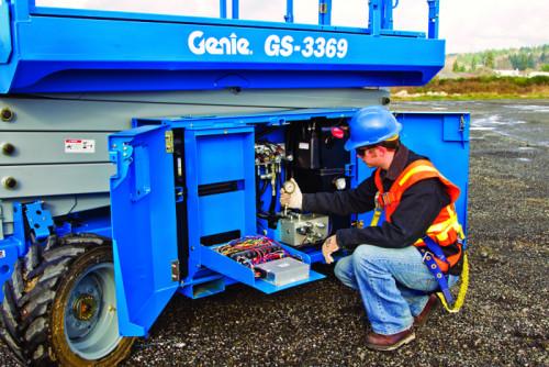 Nacelles ciseaux electrique 9,9M GENIE GS 2669 DC