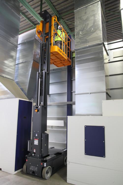 Nacelles mât vertical electrique 6,6M ATN PIAF 660 RC