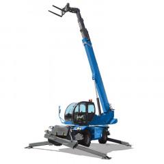 Chariots télescopiques rotatifs diesel 25m magni rth 6.25 sh