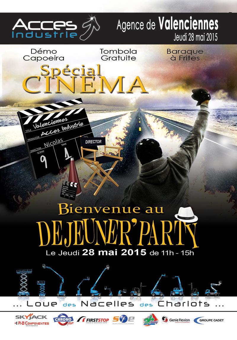 L'agence de Valenciennes fait son cinéma !