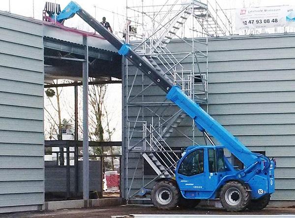 Les machines Acces Industrie sur chantier...