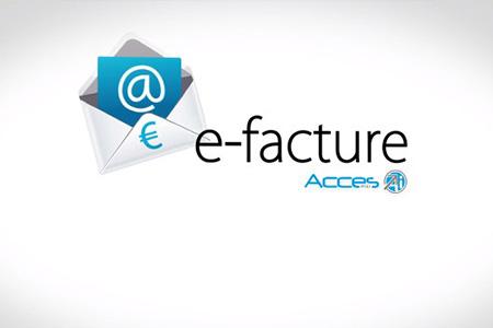 Acces Industrie passe à l'e-facture !