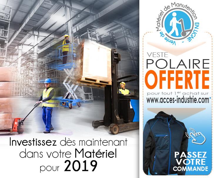 Votre veste polaire offerte pour tout 1er achat en ligne
